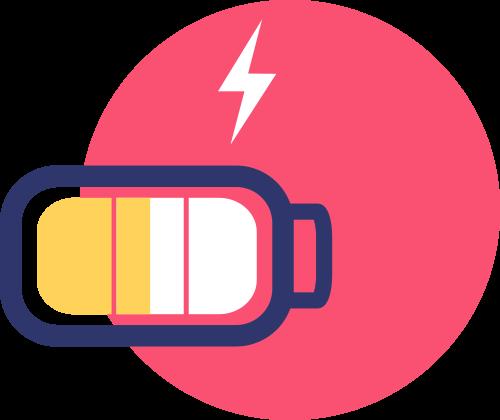 icone batterie wre
